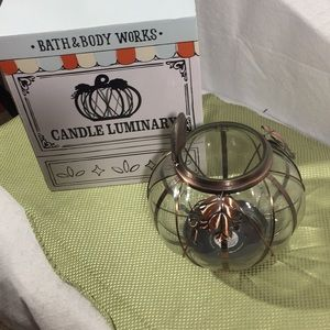 Bath and Body Works, Pumpkin Candle Luminary